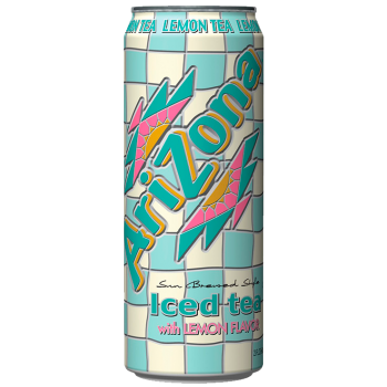 Холодный чай ARIZONA TEA LEMON 0,680 x 24 ж/б (США)