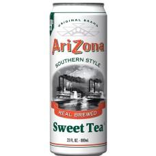 Холодный чай ARIZONA TEA SWEET TEA 0,680 x 24 ж/б (США)
