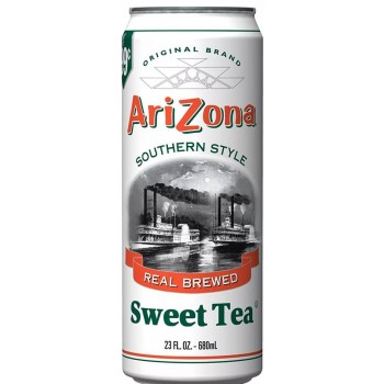 Холодный чай ARIZONA TEA SWEET TEA 0,680 x 24 ж/б (США)