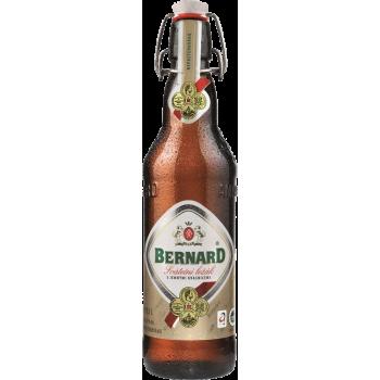 Пиво Бернард Сватечни Лежак светлое непастер фильтров 0.5 x 20 ст. бут алк. 5,0% / Bernard Svatecni Lezak