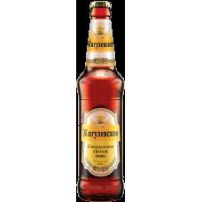 Пиво Жигулёвское спец.светлое паст. 5,2 % 0,5 л. x 20 ст.бут, Лидское пиво