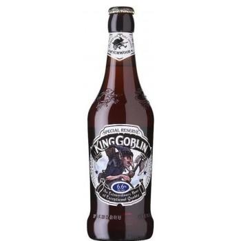 Пиво темное пастеризованное фильтрованное Вичвуд Кинг Хобгоблин 6,6 % 0,5 x 8 бут. /Hobgoblin