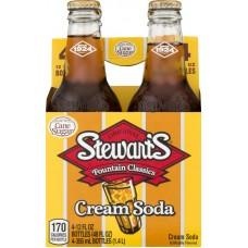 Напиток б/алк Stewart`s Cream Soda 0,355 х 24 стекл.бут (США)