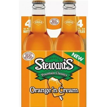 Напиток б/алк Stewart`s Orange`n Cream 0,355 х 24 стекл.бут (США)