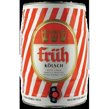 Пиво Фрюх Кельш светлое алк.4,8% /БОЧКА 5л./ Fruh Kolsch