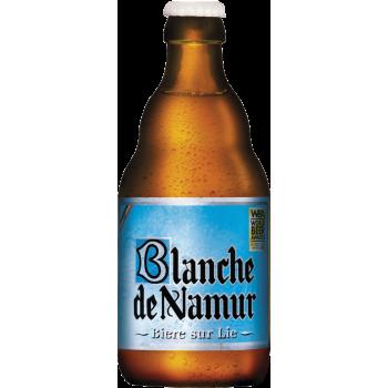 Пивной напиток БЛАНШ ДЕ НАМУР нефильтр. 0,33 х 24 ст.бут. алк.4,5 %/ Blanche de Namur