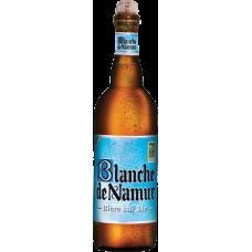 Пивной напиток БЛАНШ ДЕ НАМУР нефильтр. 0,75 х 6 ст.бут. алк.4,5 %/ Blanche de Namur