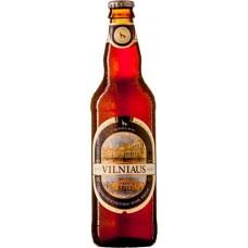 Пиво темное пшеничное нефильтрованное пастеризованное Vilniaus Kvetinis Tamsusis (Вильнюс Пшеничное темное)/ алк. 5.8% 0,5 x 8 cт. бут /Литва