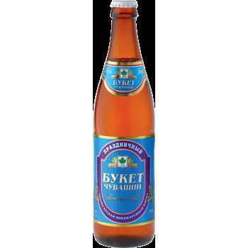 Пиво Праздничный Букет светлое 5,0 % 0,5 л. x 20 ст.бут,