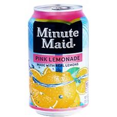 Напиток б/алк Minute Maid PINK Lemonade 0,355 x 12 ж/б (США)