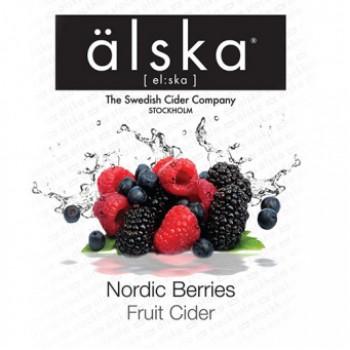 Сидр Alska Nordic Berries (Альска лесные ягоды), КЕГ 30 л алк. 4.0%