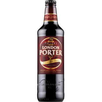 Пиво Фуллерс ЛОНДОН ПОРТЕР тёмное 5,4 % 0,5 x 12 ст.бут/ FULLERS LONDON PORTER