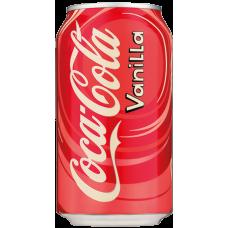 Кока Кола Ванилла 0,355 х 12, ж/б, (США)