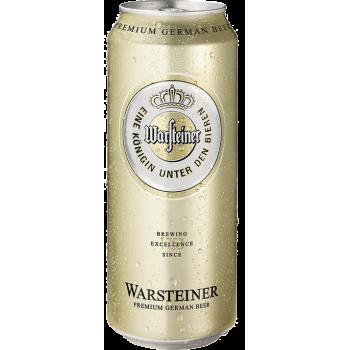 Пиво Варштайнер светлое 4,8% 0,5 л. х 24 БАНКА!!! 4,8%/ Warsteiner Premium Verum, Германия.