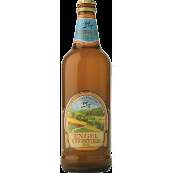 """Пиво Ангел """"Хефевайцен хель"""" светлое н/ф пшеничное 5,2 % 0,5 x 15 бут./ Германия"""