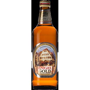 """Пиво Ангел """"Золотой Ангел"""" светлое 5,4 % 0,5 x 15 бут./ Engel Gold/Германия"""