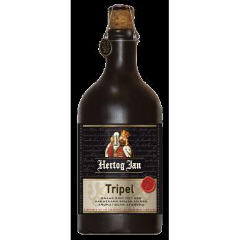 "Пиво Герцог Ян ""ТРИПЕЛЬ"" алк.8,5 % светлое н/ф 0,5 x 8 бут./ Нидерланды"