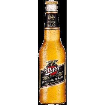 Пиво Миллер Дженьюин Драфт 0,33 x24 ст.бут/ MILLER GENUINE DRAFT/Италия