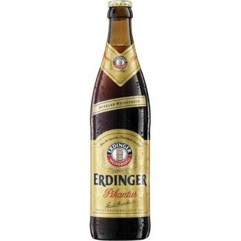 Пиво Эрдингер Пикантус темное нефильтр. 0.5 x 12 ст.бут 7,3% /Erdinger Pikantus, Германия.