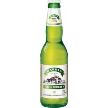 Пиво Харбин ПРЕМИУМ 5,5% 0,33 х 24 ст.бут. / Китай