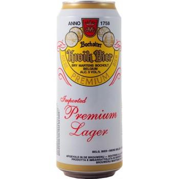 Пиво Бохольтер Квик Бир светлое 0,5 л. х 24 БАНКА алк.5,0%/БЕЛЬГИЯ