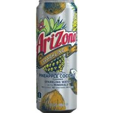 Напиток ARIZONA SPARKLING PINEAPPLE COCONUT 0,355 x 8 ж/б (США)