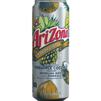 Напиток ARIZONA SPARKLING PINEAPPLE COCONUT 0,355 x 8 ж/б (США)