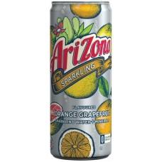 Напиток б/алк ARIZONA SPARKLING =ORANGE GRAPEFRUIT= 0,355 x 8 ж/б (США)