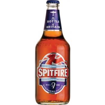 Пивной напиток Спитфайр светлый фильтрованный 0,5 x 12 бут. 4,5 % / Spitfire