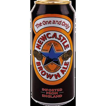 Пиво Ньюкастл Браун Эль алк. 4,7% 0,5 x 24 БАНКА/Newcastle