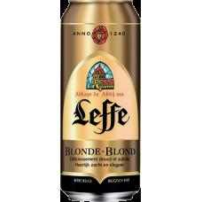 Пиво Леффе Блонде 0,5 x 24 БАНКА.6,6% / Leffe Blonde/Бельгия