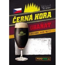 Пиво Черна Гора Гранат темное фильтр. пастериз. 30л / ПЭТ-КЕГ тип S/ 4,5% / Cerna Hora Granat / Чехия