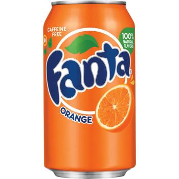 Напиток б/алк. =АПЕЛЬСИН=/ORANGE/= 0,355 х 12 ж/б / Fanta Orange, США.