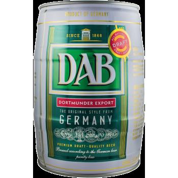 Пиво ДАБ Ориджинал 5,0% 5 л. х 1 БОЧКА 5,0%/ DAB Original, Германия.
