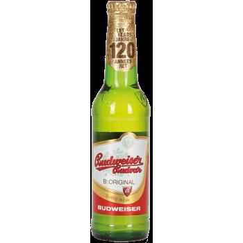 Пиво Будвайзер Будвар 0.33x24ст. бут 5.0% / Budweiser Budvar