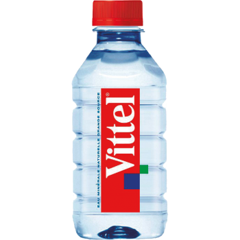 Вода Виттель 0.33х24 пл.бут/Vittel