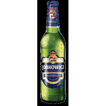 Пиво Лобковиц премиум БЕЗАЛКОГОЛЬНОЕ 0,5 л. х 20 ст.бут. /Чехия
