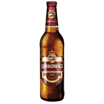 Пиво Лобковиц ЭЛЬ светлое фильтр.паст. 0,5x20 бут. 4,4% / Lobkowicz Ale/Чехия