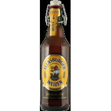 Пиво Фленсбургер Вайцен нефильтр. 5,1% 0,5 x 16 бут.