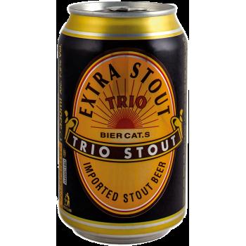 Пиво Трио Брувериж Экстра стаут тёмное 7,2 % 0,33*24 БАНКА