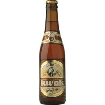 Пиво Паувел Квак тёмное нефильтрованное пастеризованное 8,4 % 0,33*24 бут / Pauwel Kwak