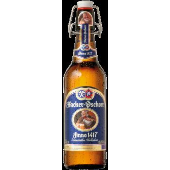 Пиво Хакер Пшор Мюнхнер Келлербир 0,5x18 бут. алк. 5,5 %/ Hacker-Pshorr Munchner Kellerbier