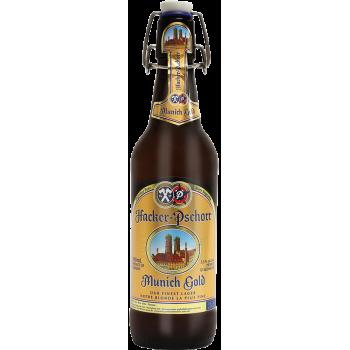 Пиво Хакер Пшор Мюних Голд 0,5x18 бут. алк. 5,5 %/ Hacker-Pshorr Munich Gold