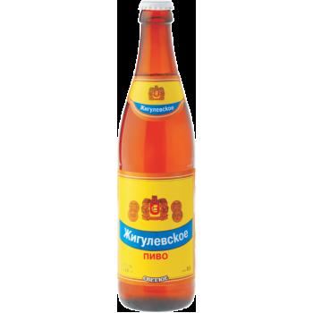 Пиво Жигулёвское светлое 4,5 % (Букет Чувашии) 0,5 л. x 20 ст.бут,