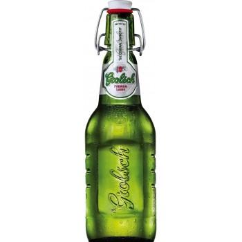 Пиво Гролш светлое 5% 0,45x24!!! (6*4) ст.бут / Grolsch Premium Lager