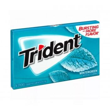 Жев. резинка Trident Wintergreen 1 x 12 шт. (блок) / США