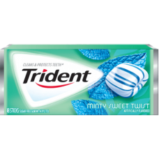 Жев. резинка Trident Minty Sweet Twist 1 x 12 шт. (блок) / США