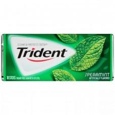 Жев. резинка Trident Spearmint 1 x 12 шт. (блок) / США