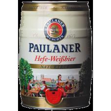 Пиво Пауланер Хефе Вайсбир пшен.н/ф.5,5% (БОЧКА) 5 л.