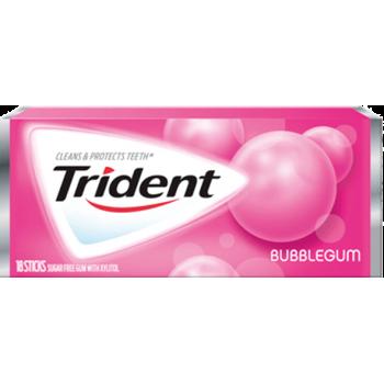 Жев. резинка Trident Bubblegum 1 x 12 шт. (блок) / США